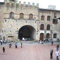 Place duomo San Gimignano
