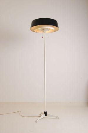 lampadaire noirblanc