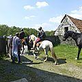 balade à cheval médiévale - Abbaye de Hambye (260)