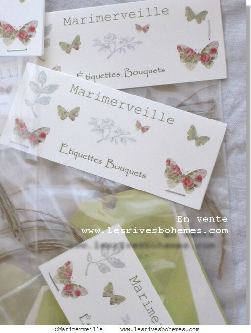 Marimerveille collection étiquettes bouquets 3