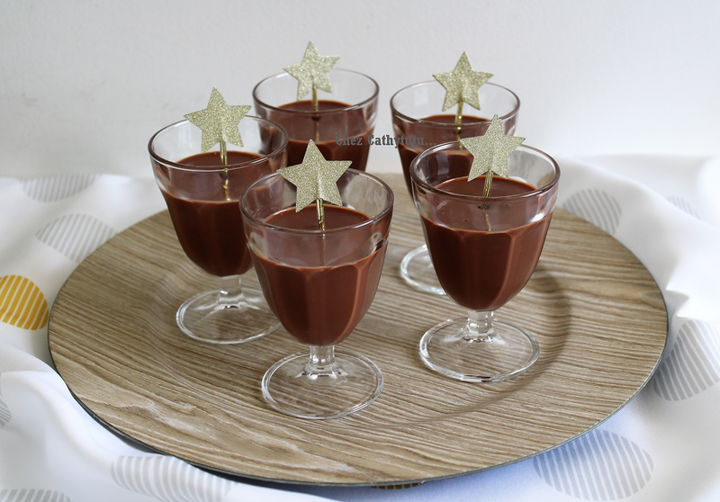 crème au chocolat creme de marron feve de tonka oeuf Nigella Lawson Chez Cathytutu