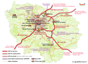 Carte transports IDF