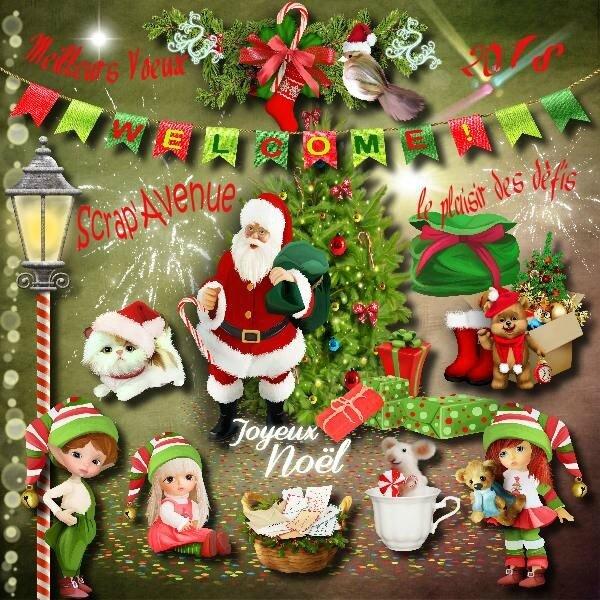* St-Nicolas et Père Noël se suivent