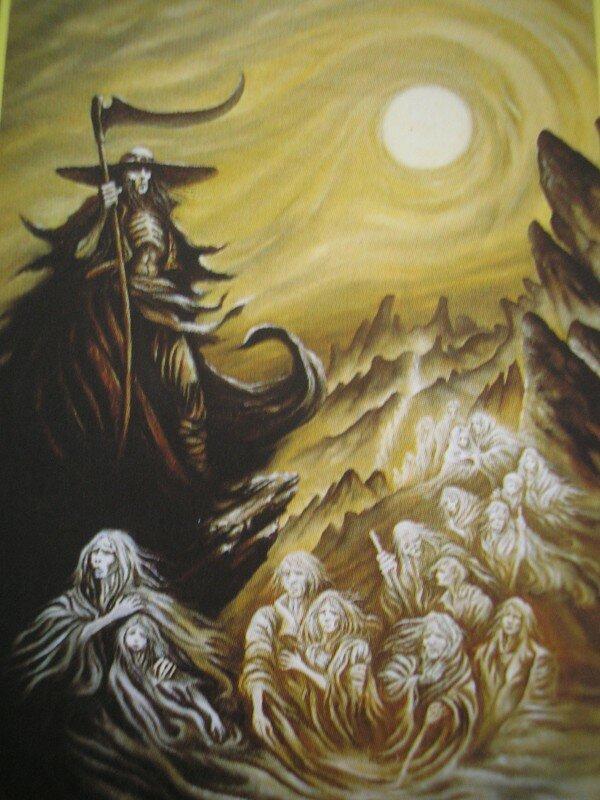 Témoignage Vidéo de L'Archange Azraël « l'Ange de la Mort ».  ( La faucheuse ! ) 18458273