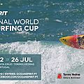 International world waveski surfing cup