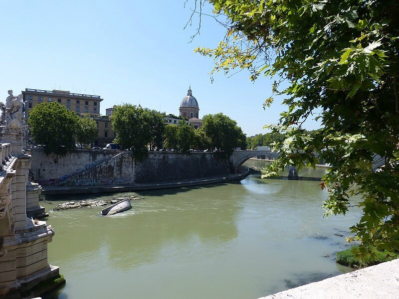 Rome les bords du T