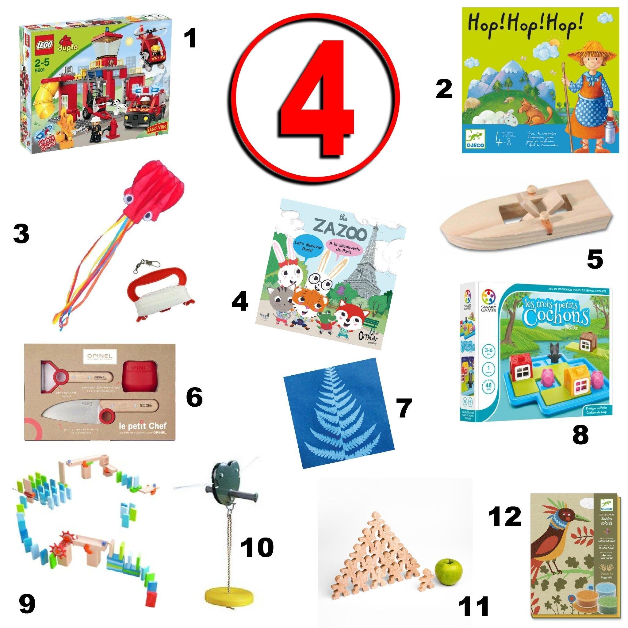 Idées Cadeaux Pour Un Enfant De 4 Ans Graine De Crapule