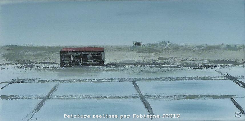 Ile de Ré, les marais près d'Ars-en-Ré