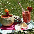 Smoothie estivale: melon, fraise et citron battle food #20