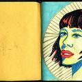 Carnet de dessins _ portraits