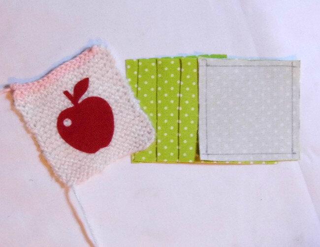 Cube tissu et tricot 2