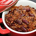 Chili mexicain (con carne)