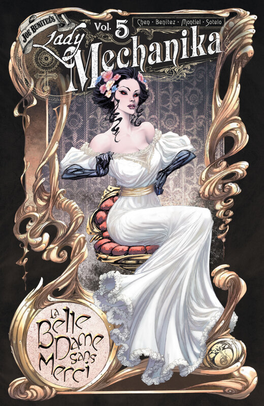 benitez lady mechanika vol 05 la belle dame sans merci TPB