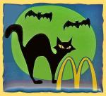 Pin's Halloween Chat noir Mac Do