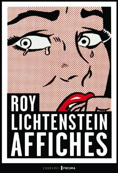 roy lichtenstein affiches