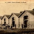 04 Caen, Quartier Claude Decaen, les écuries
