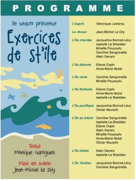 EXERCICES STYLE