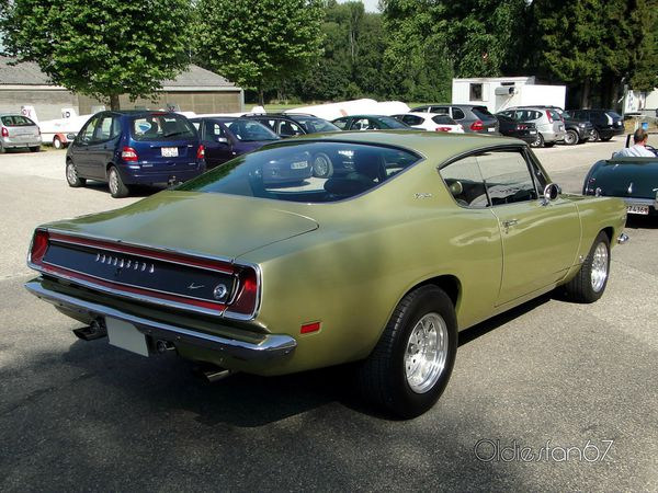 plymouth barracuda 340s coupe 1969 d