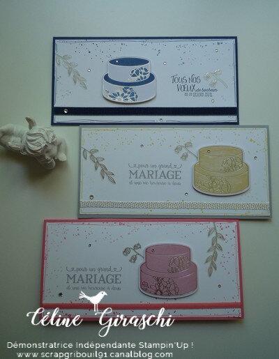Carte Mariage Douce Soirée -1