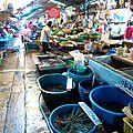 Marché - quartier Tewet - Bkk