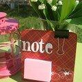 Coaster notes