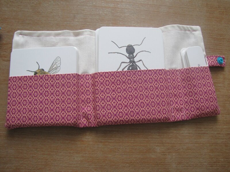 Pochette Insectes