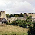 Un édifice militaire du moyen-âge à authevernes