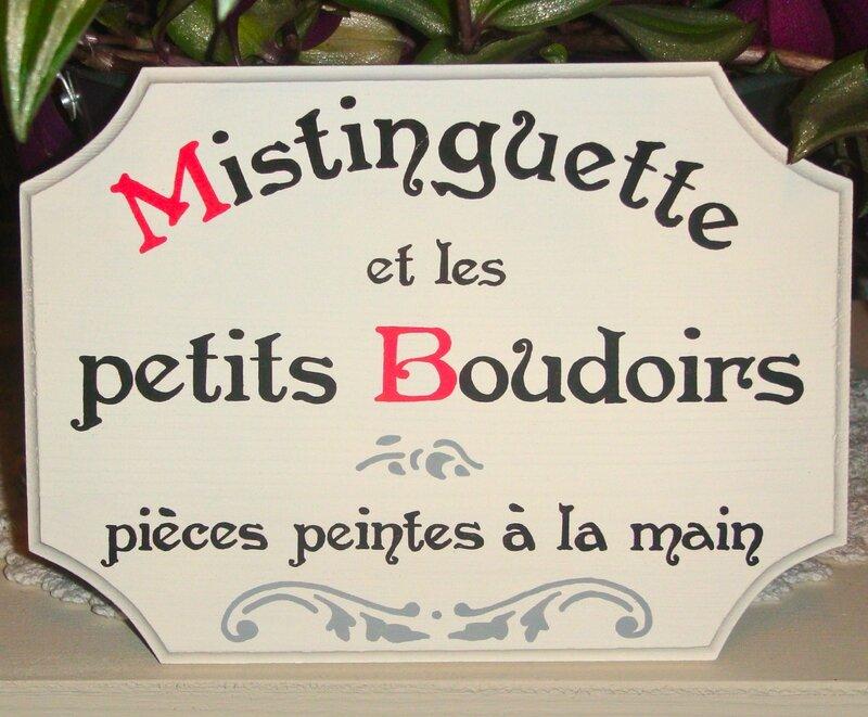 plaque mistinguette