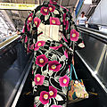 Keikyû yukata in the escalator girl
