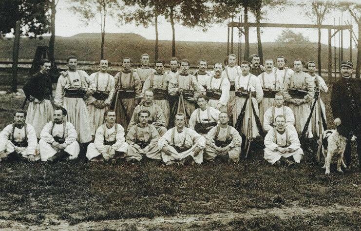 4e Zouaves, 1914-1918
