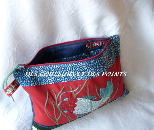 trousse carpe japon interieur