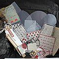 Scrap box de novembre 2012 : ecris l'histoire