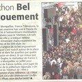 Montpellier et le téléthon