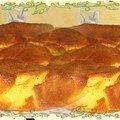 Gâteau aux pommes à la farine de maïs