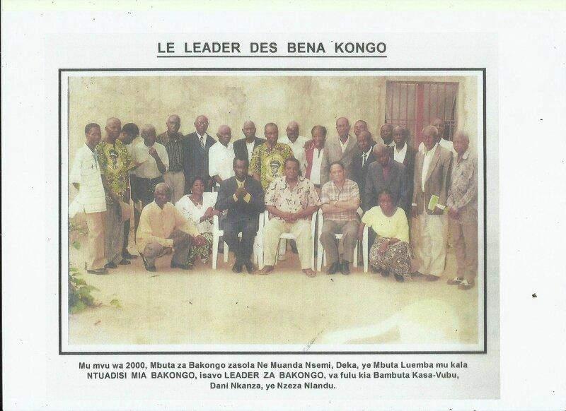 NE MUANDA NSEMI LEADER DES BAKONGO