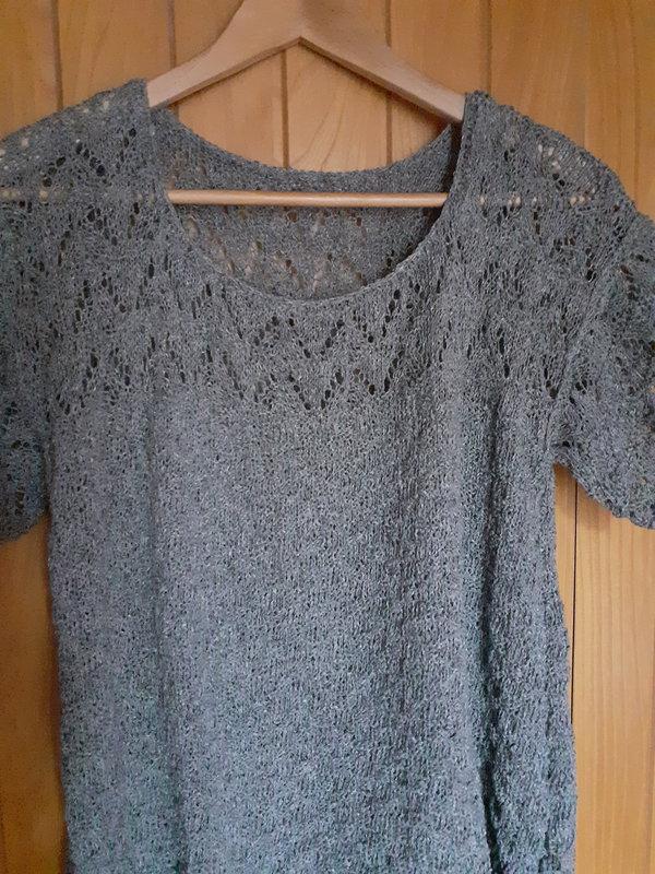 tunique elle tricote