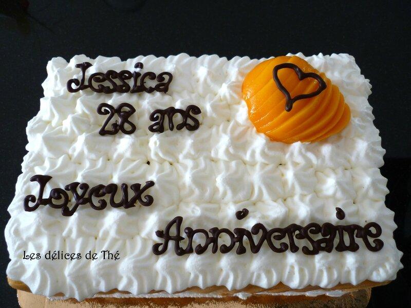Gâteau glacé pêche anniv Jess 28 ans (20)