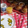 Brunch entre copines - les muffins