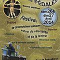 Augustes pédales 4ème édition les 26 et 27 avril 2014