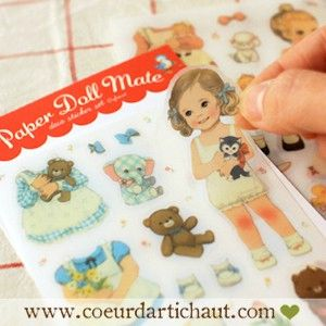 stickers-retro-paper-doll-transparent www.coeurdartichaut.com