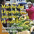 Marché des légumes anciens - jarnages
