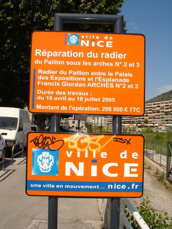 chantier u tramway de nice n° XXX 001