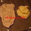 Purée de pommes de terre aromatisée