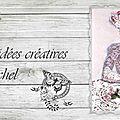 14-Bandeau gris aux roses