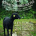 Festivale des fibres aux fils 2016