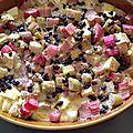 Clafoutis pomme-rhubarbe sans plv ni gluten