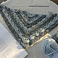 South bay shawlette en cours ...