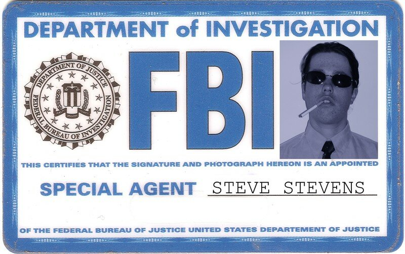 carte du fbi de steve stevens photo de stevens donovan miami files. Black Bedroom Furniture Sets. Home Design Ideas