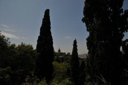 Barcelone, Jardins del Laribal, mai 2011