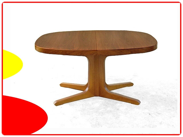 table danoise extensible teck scandinave